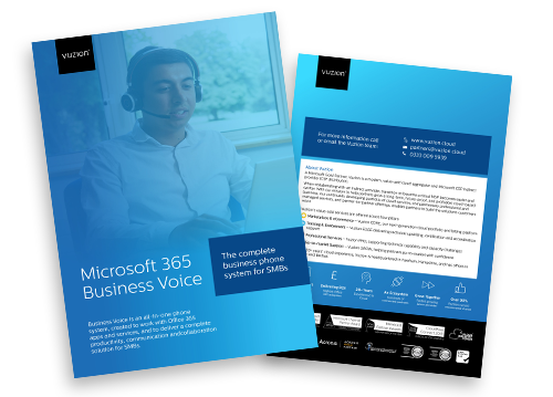Vuzion-M365 Business Voice