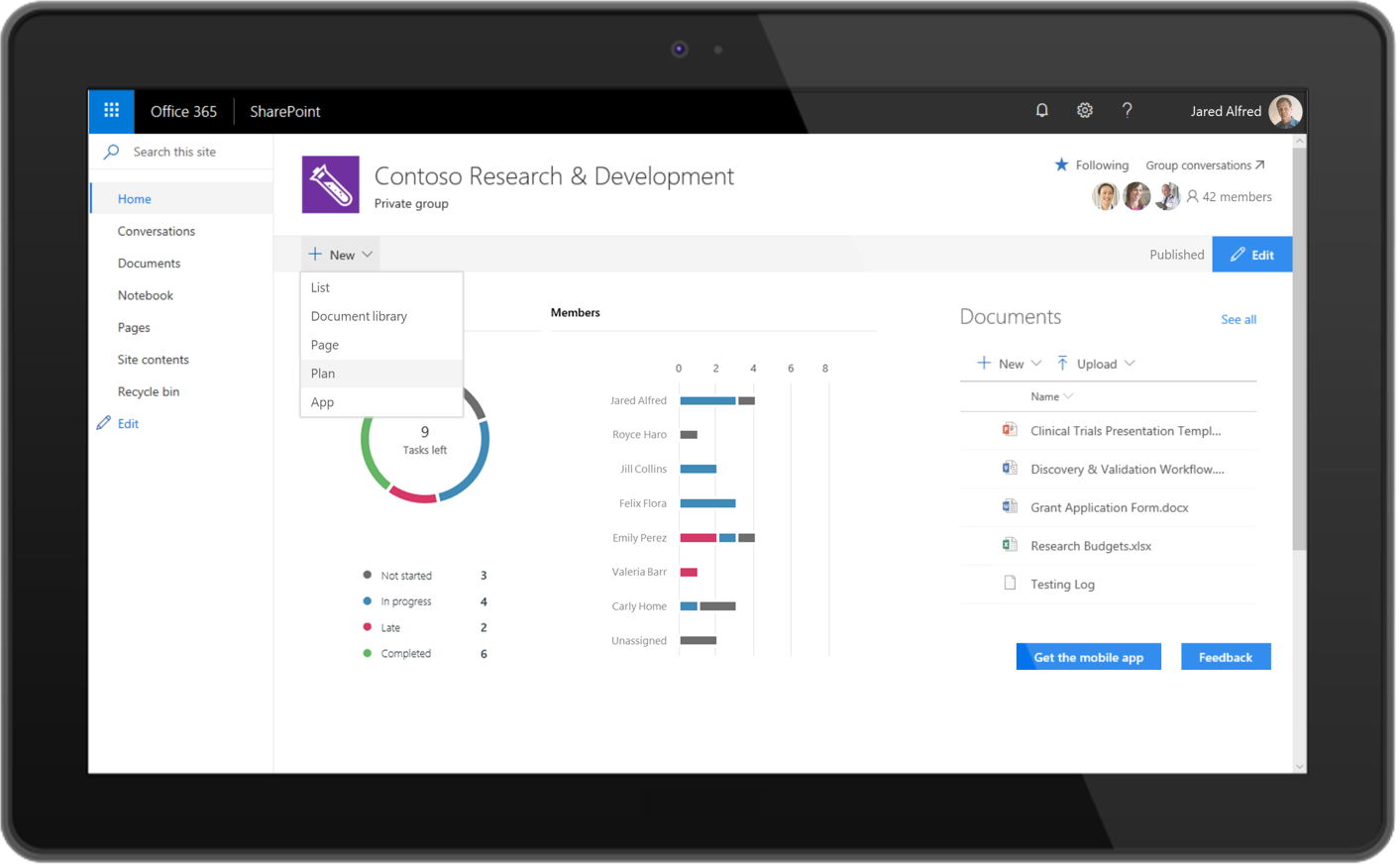 Planner SharePoint Microsoft 365
