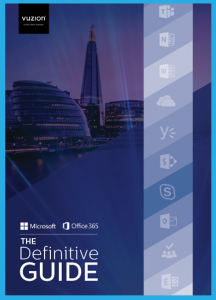 Vuzion Definitive Guide Office 365