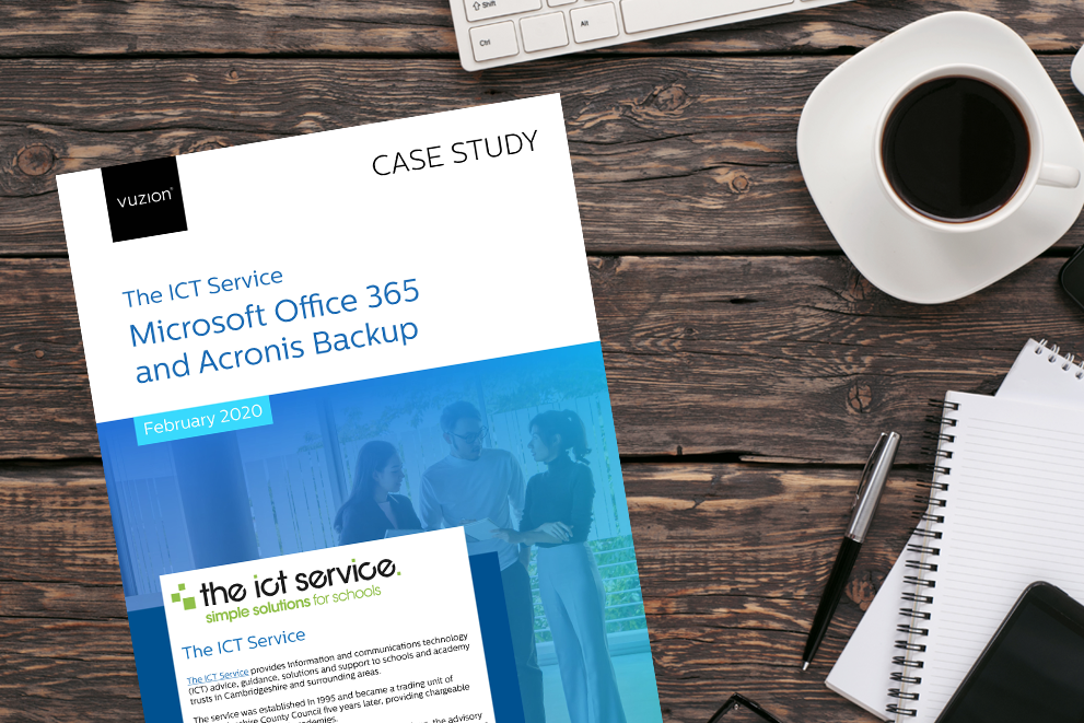 The ICT Service - Microsoft Office 365 and Acronis Backup